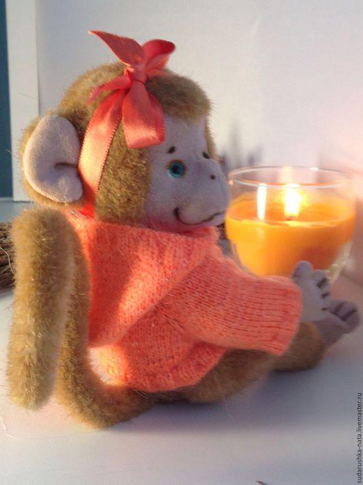 Мишки Тедди ручной работы. Ярмарка Мастеров - ручная работа. Купить Апельсинка. Handmade. Бежевый, символ 2016 года, подарок