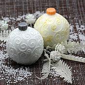 Косметика ручной работы handmade. Livemaster - original item Soap Christmas volumetric Christmas ball. Handmade.