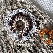 Украшения ручной работы. Ярмарка Мастеров - ручная работа Медная шпилька для волос. Handmade.