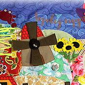 Куклы и игрушки ручной работы. Ярмарка Мастеров - ручная работа Развивающий коврик ГОТОВЫЙ! Маленький мир. Handmade.