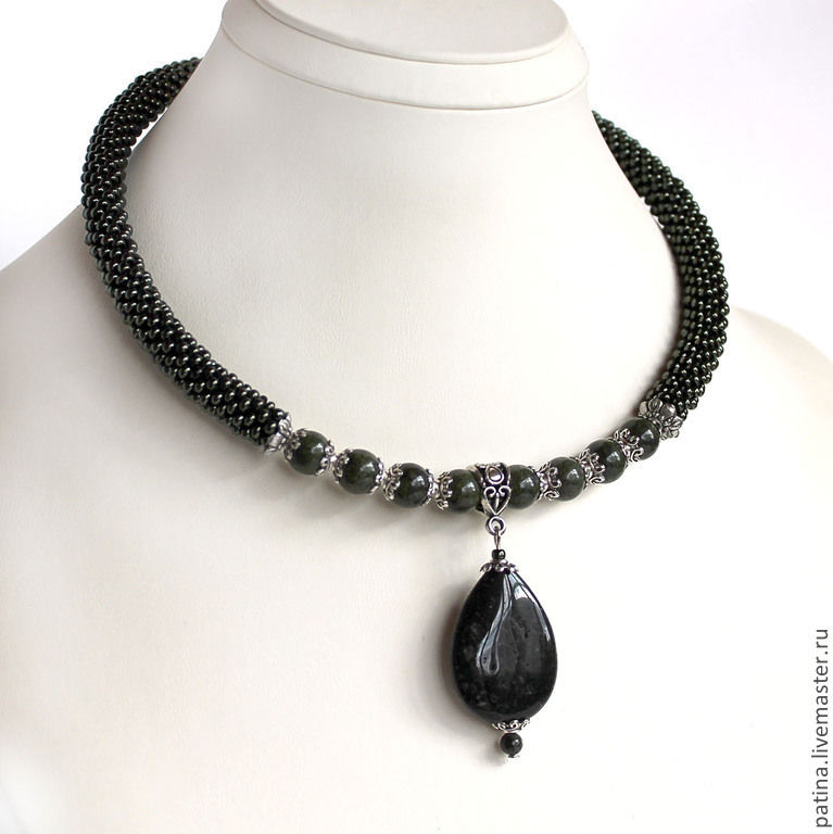 Handmade jewelry. Necklace `Office`. Fair Masters. Ksenia Patina.