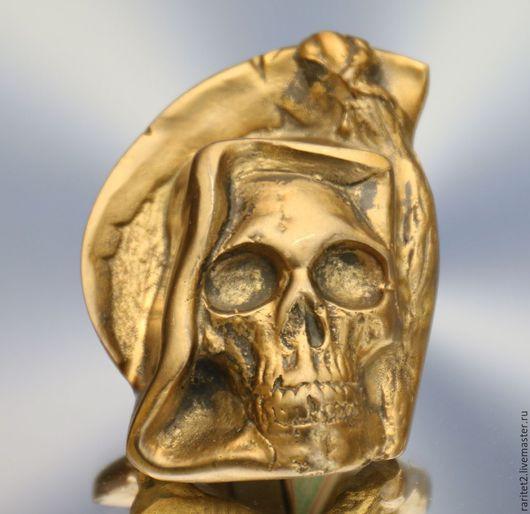 Винтажные предметы интерьера. Ярмарка Мастеров - ручная работа. Купить Череп скелет бронза Англия 1. Handmade. Золотой, череп