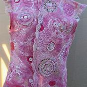 Одежда ручной работы. Ярмарка Мастеров - ручная работа Легкий романтичный кружевной жилетик. Handmade.