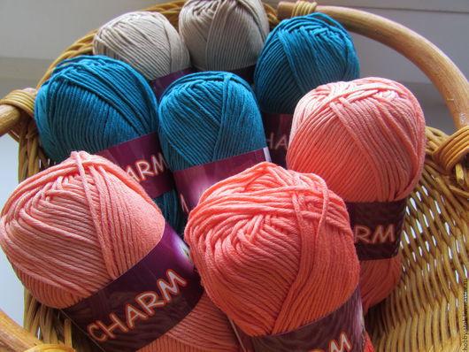 Вязание ручной работы. Ярмарка Мастеров - ручная работа. Купить Пряжа Vita Charm. Handmade. Хлопок, пряжа для вязания