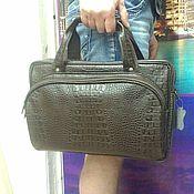 Сумки и аксессуары handmade. Livemaster - original item Bag leather office 189. Handmade.
