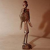 Для дома и интерьера ручной работы. Ярмарка Мастеров - ручная работа Сатуэтка Старик Африка - эбеновое дерево. Handmade.