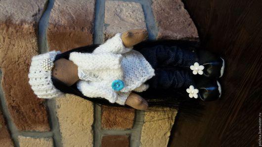 Куклы Тильды ручной работы. Ярмарка Мастеров - ручная работа. Купить интерьерная куколка. Handmade. Кукла ручной работы, белый
