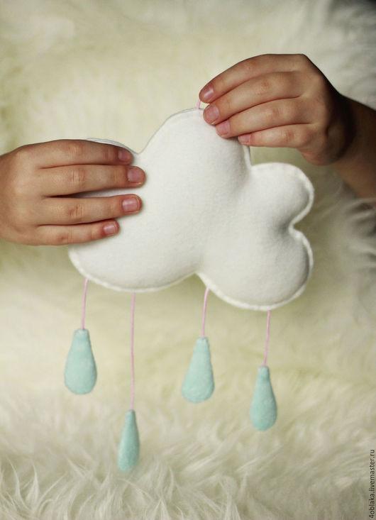 Развивающие игрушки ручной работы. Ярмарка Мастеров - ручная работа. Купить облачко. Handmade. Белый, облачко, игрушка для детей