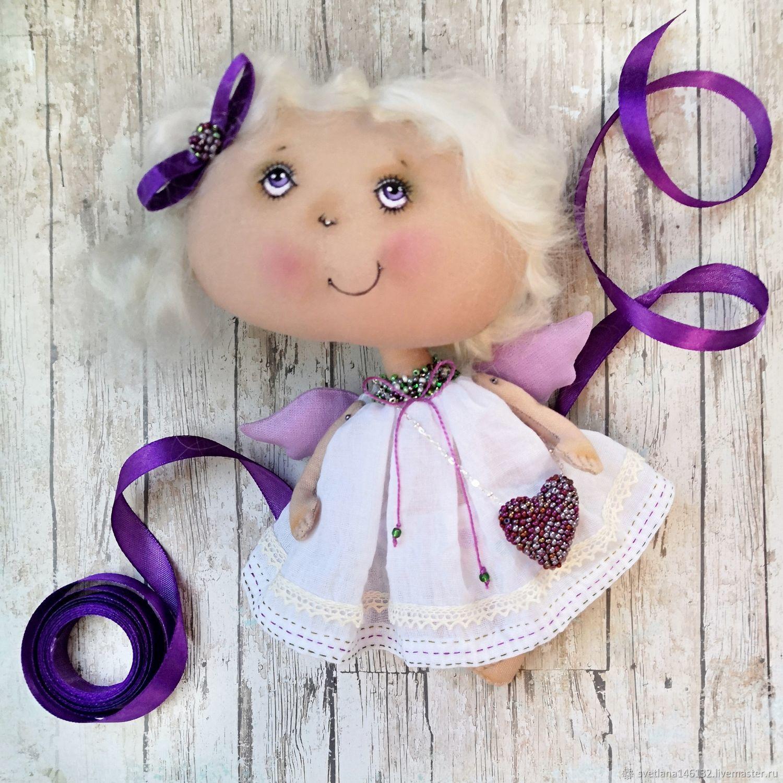 Ангел в белом, Мягкие игрушки, Кемерово,  Фото №1