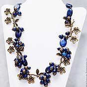 Украшения handmade. Livemaster - original item Necklace with lapis lazuli