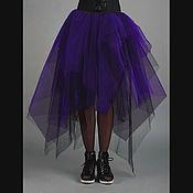 """Одежда ручной работы. Ярмарка Мастеров - ручная работа Юбка- пачка """"Фиолетовая  королева"""". Handmade."""