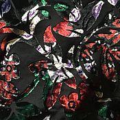Ткани ручной работы. Ярмарка Мастеров - ручная работа Натуральный панбархат выпуск времен ссср -деворе. Handmade.