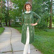 Одежда ручной работы. Ярмарка Мастеров - ручная работа Авторское пальто из мохера. Handmade.