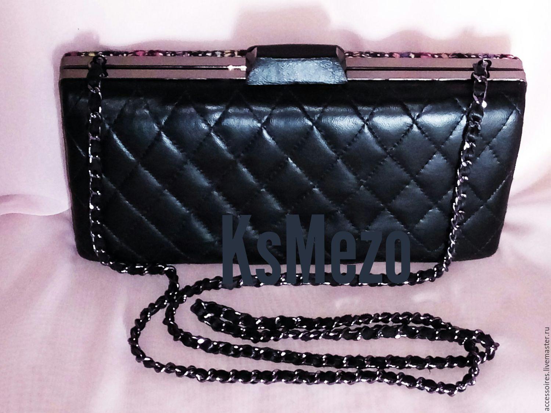 34cf662169a0 Интернет-магазин Ярмарка · Женские сумки ручной работы. Заказать Клатч  Chanel мультиколор. Kseniya Accessories.