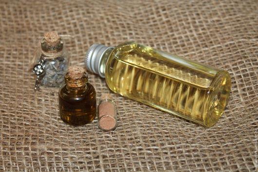 Масла и смеси ручной работы. Ярмарка Мастеров - ручная работа. Купить Гидрофильное масло для умывания Лавандовое. Handmade. Желтый