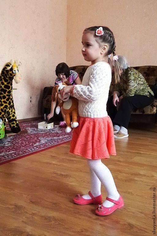 Одежда для девочек, ручной работы. Ярмарка Мастеров - ручная работа. Купить Платье детское вязаное шерстяное. Handmade. Детское платье