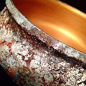 Для дома и интерьера ручной работы. Ярмарка Мастеров - ручная работа Блюдо Античное золото. Handmade.