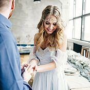 Свадебный салон ручной работы. Ярмарка Мастеров - ручная работа Свадебное платье Сирена. Handmade.
