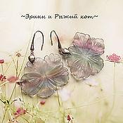 """Украшения ручной работы. Ярмарка Мастеров - ручная работа Серьги """"Нежность цветов"""". Handmade."""