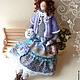 Куклы Тильды ручной работы. Ярмарка Мастеров - ручная работа. Купить ТИЛЬДА Леди  Натали коллекционная интерьерная кукла. Handmade.