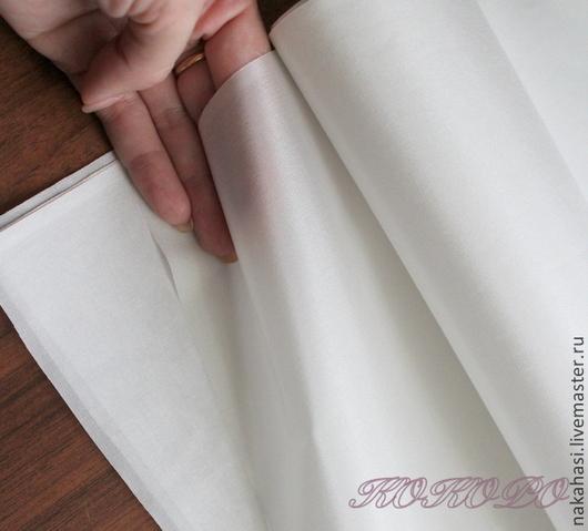 Ткань для цветов ручной работы. Ярмарка Мастеров - ручная работа. Купить Десин №10 натуральный 100% шелк (100см х 92см). Арт. – 02000. Handmade.