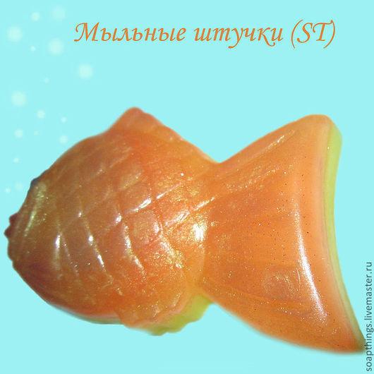 Мыло ручной работы. Ярмарка Мастеров - ручная работа. Купить Волшебная рыбка - 2. Handmade. Рыбка, мыло ручной работы