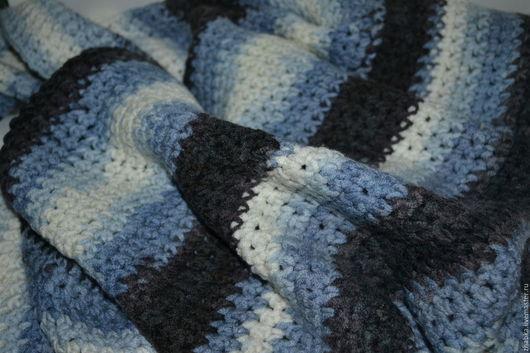 Пледы и одеяла ручной работы. Ярмарка Мастеров - ручная работа. Купить Плед детский полосатый. Handmade. Плед, одеяло детское