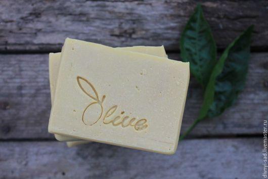 Мыло ручной работы. Ярмарка Мастеров - ручная работа. Купить Натуральное кастильское мыло на козьем молоке. Handmade. Салатовый