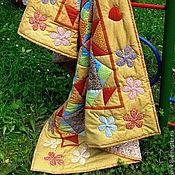 """Для дома и интерьера ручной работы. Ярмарка Мастеров - ручная работа Лоскутное одеяло """"Сказочная страна"""". Handmade."""