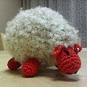 """Куклы и игрушки ручной работы. Ярмарка Мастеров - ручная работа игрушка вязанная крючком """"Овечка"""". Handmade."""