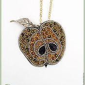 Украшения ручной работы. Ярмарка Мастеров - ручная работа Золотое яблоко. Handmade.