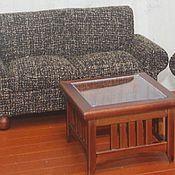 Материалы для творчества ручной работы. Ярмарка Мастеров - ручная работа Наборы мебели для гостиной Миниатюра 1:12. Handmade.
