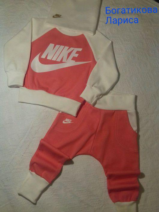 """Одежда для девочек, ручной работы. Ярмарка Мастеров - ручная работа. Купить Спортивный костюм фирмы """"Nike """". Handmade. Nike"""