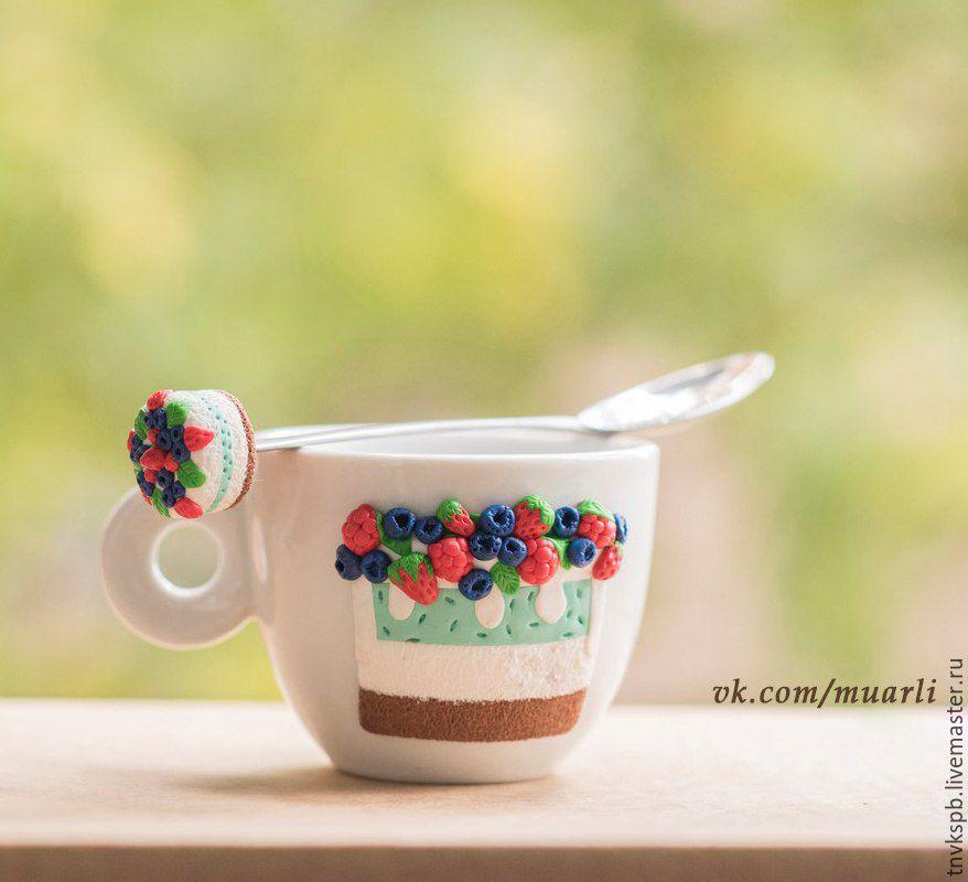 Чай из полимерной глины