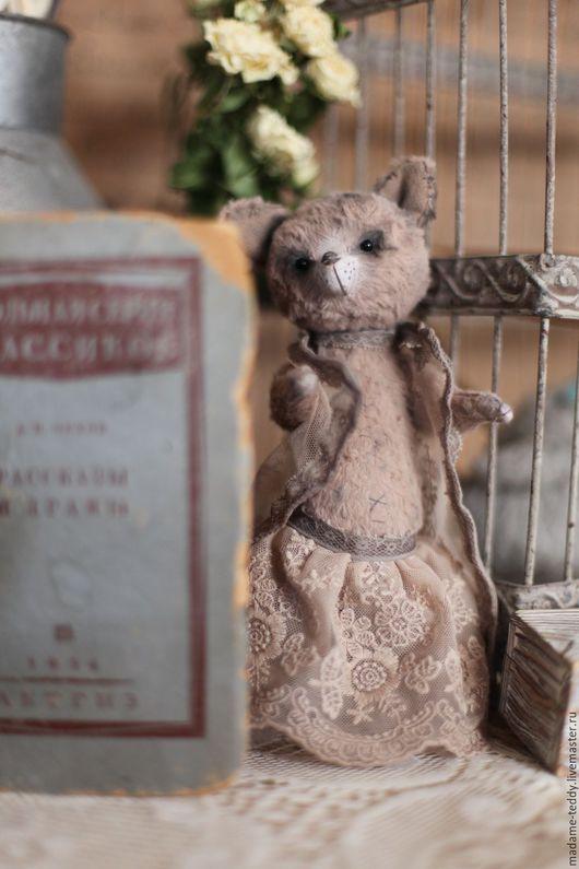Мишки Тедди ручной работы. Ярмарка Мастеров - ручная работа. Купить Стефани. Handmade. Кремовый, тедди винтаж, Будуарная кукла