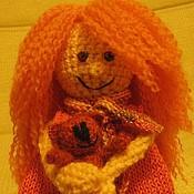 """Куклы и игрушки ручной работы. Ярмарка Мастеров - ручная работа Полли  """"Оранжевое настроение"""". Handmade."""