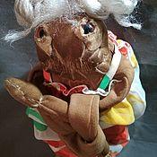 Чердачная кукла ручной работы. Ярмарка Мастеров - ручная работа Чердачная кофеюшка монстрица. Handmade.