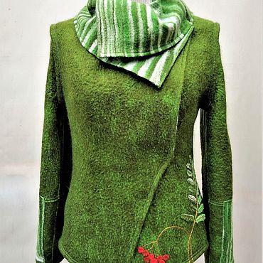 """Одежда ручной работы. Ярмарка Мастеров - ручная работа Валяная куртка """"Мечта для весны"""". Handmade."""