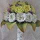 Букеты ручной работы. Ярмарка Мастеров - ручная работа. Купить Букет невесты из фоамирана. Handmade. Лимонный, букет роз