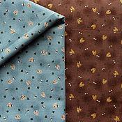 """Ткани ручной работы. Ярмарка Мастеров - ручная работа Японский хлопок """"Пчёлки"""". Handmade."""