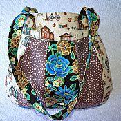 Классическая сумка ручной работы. Ярмарка Мастеров - ручная работа Сумка лоскутная пэчворк. Handmade.
