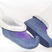 Обувь ручной работы. Ярмарка Мастеров - ручная работа тапки Колокольчики. Handmade.