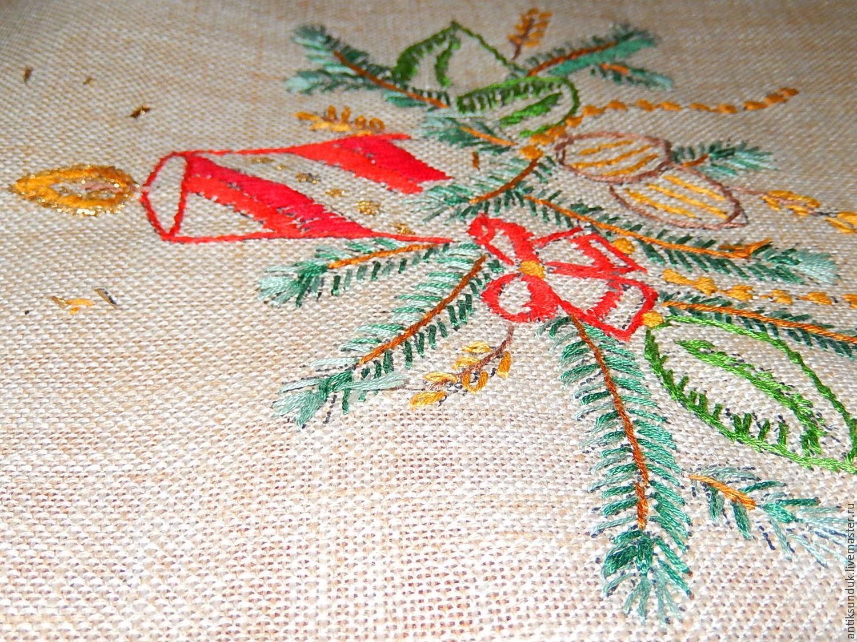 Вышивка скатерти на заказ коллекция схем - Промвышивка 55