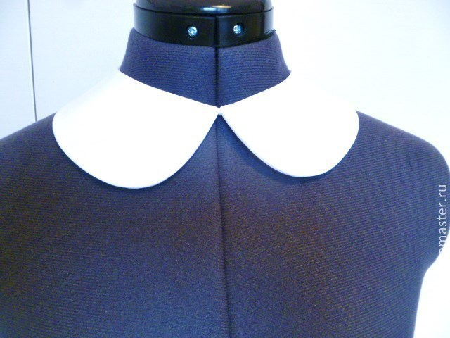Collars handmade. Livemaster - handmade. Buy Removable collar universal white crepe.Handmade, accessories, manual work of authorship