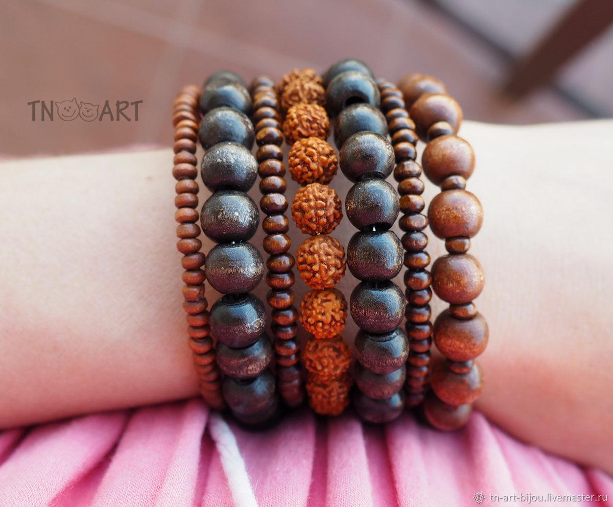 Bracelet 'Tales of the forest', Bead bracelet, Sochi,  Фото №1