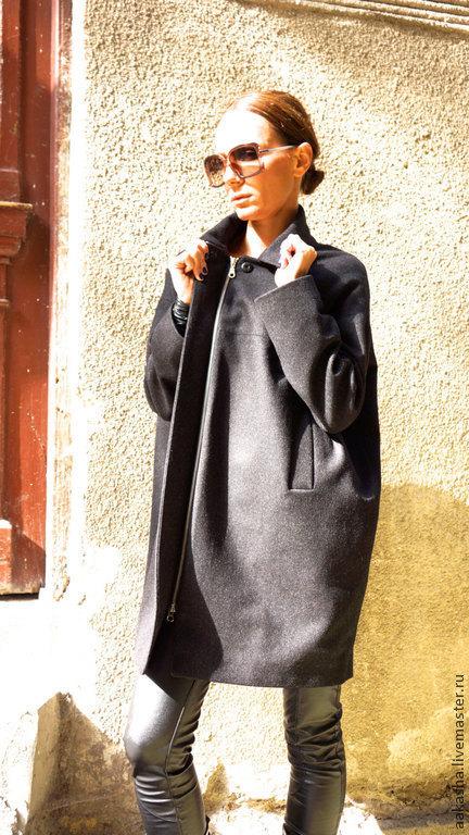 Верхняя одежда ручной работы. Ярмарка Мастеров - ручная работа. Купить Кашемировое пальто Always in Style. Handmade. Пальто