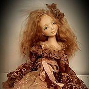 Куклы и игрушки ручной работы. Ярмарка Мастеров - ручная работа Будуарная куколка из пластика. Handmade.