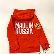 Одежда handmade. Livemaster - original item Children`s sweater with embroidery. Handmade.
