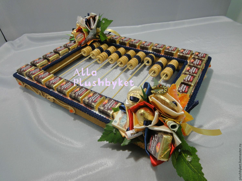 Компьютер из конфет своими руками пошаговое