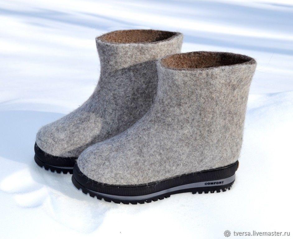 Валенки мужские на подошве Real winter, Валенки, Торжок, Фото №1